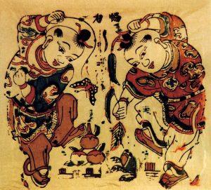 Taoist god Liu Hachan