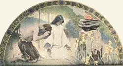 Religious mural