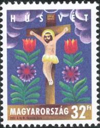 Easter stamp