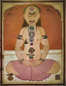 Yogin in meditation